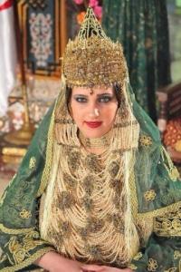 Chedda robe algérienne mariage traditionnelle