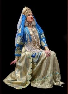 caftan tlémécien algérien