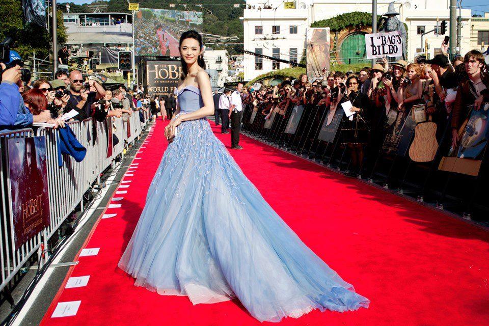 Yao Chen habillée par Georges Hobeika