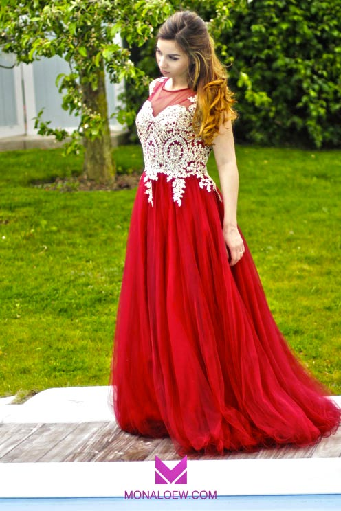 Monaloew robe orientale mariage rouge 4 monaloew for Robe rouge pour mariage