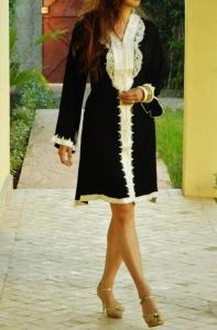 caftan marocain pour femme petite