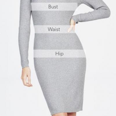 Guide des tailles spécial robes de soirée orientales