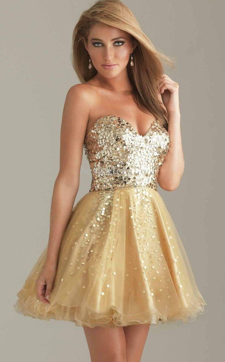 6af0c459f8c Robe dorée femme robe droite habillée