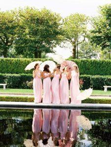 Les plus belles robes de demoiselles d'honneur roses 2018