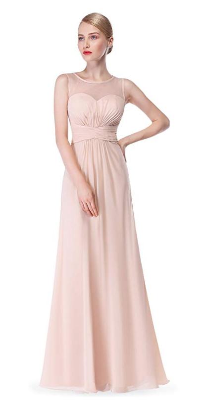 Jolie robe bohème rose